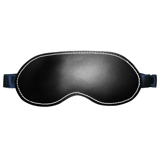 Edge Leather Blindfold Bu