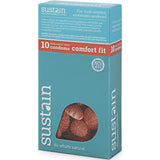 Sustain Comfort Fit Condoms 10-pack