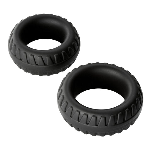 Cloud 9 Pro Rings Liquid Silicone Tires 2 Pack Cock Rings