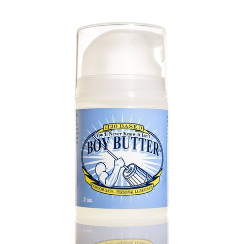 Boy Butter Ez Pump H2O Based Lubricant - 2 oz
