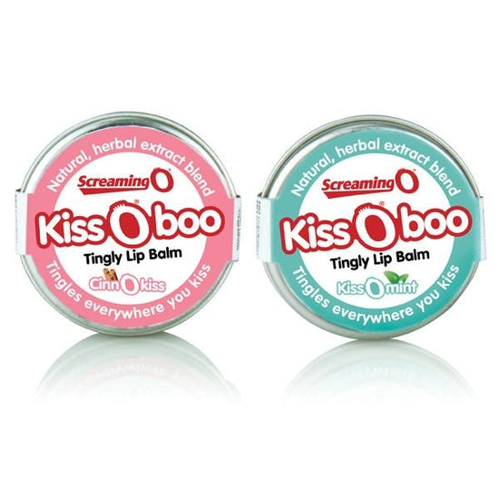 Screaming O Kiss O Boo Tingly Lip Balm