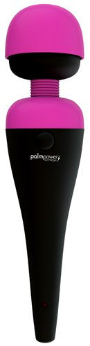 Palm Power Massager Fuchsia Rechargeable Vibrator from BMS Enterprises