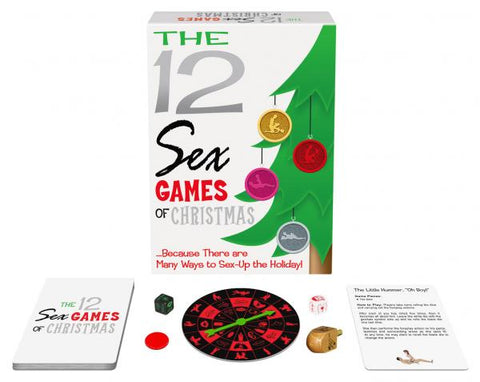 12 Sex Games Of Christmas from Kheper Games
