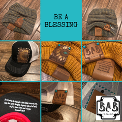 BE A BLESSING —-BAB