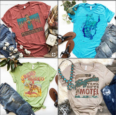 T shirts and Tank tops