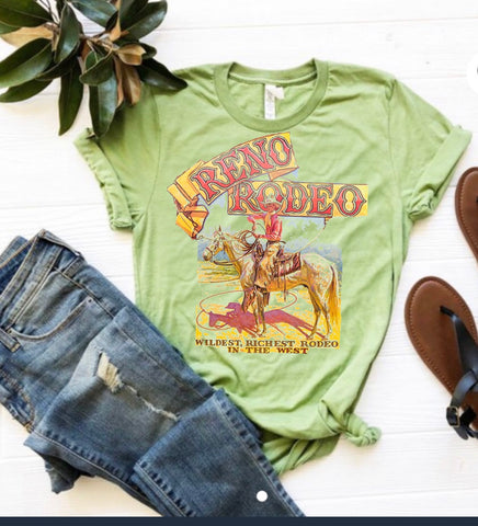Reno rodeo in lime