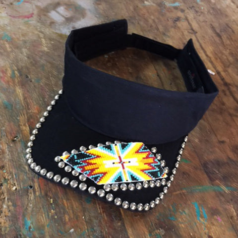 Bombshell Beaded Visor
