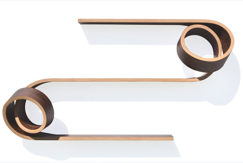 Double Twist Shelf|tablette double twist
