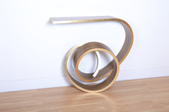 NebulaTable edge in brass|table nébula côté en laiton