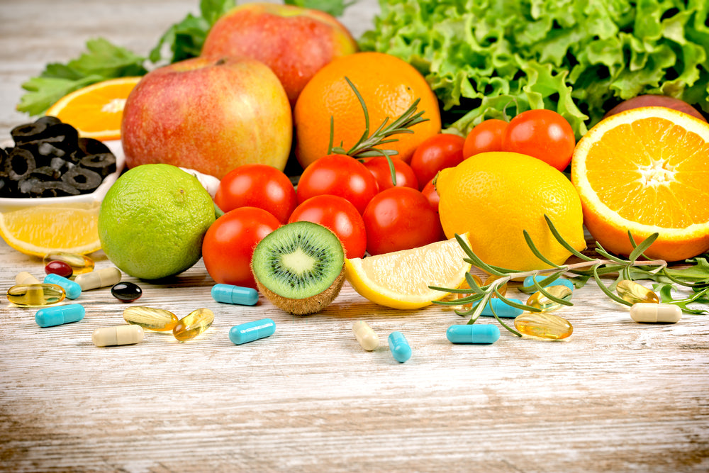 The Balance between Food and Dietary Supplements