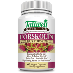 Pure Forskolin Extract - Appetite Suppressing, Metabolism Boosting & Powerful Weight Loss Formula