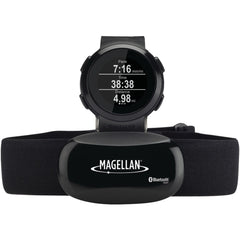 Magellan Echo Fitness Watch With Heart Rate Monitor (black)