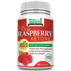 Pure Raspberry Ketone - Metabolism Booster & Natural Energy to Burn Away Fat