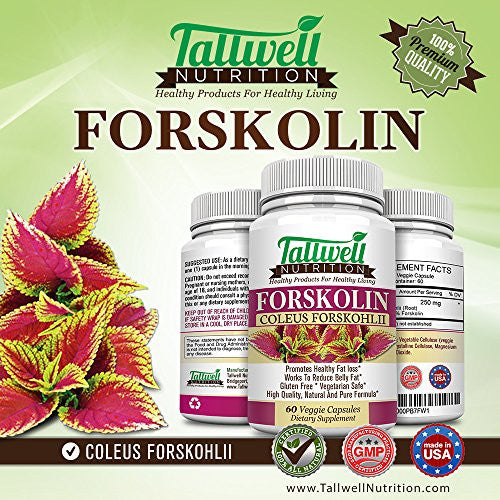 Pure Forskolin Extract Powerful Weight Loss Formula