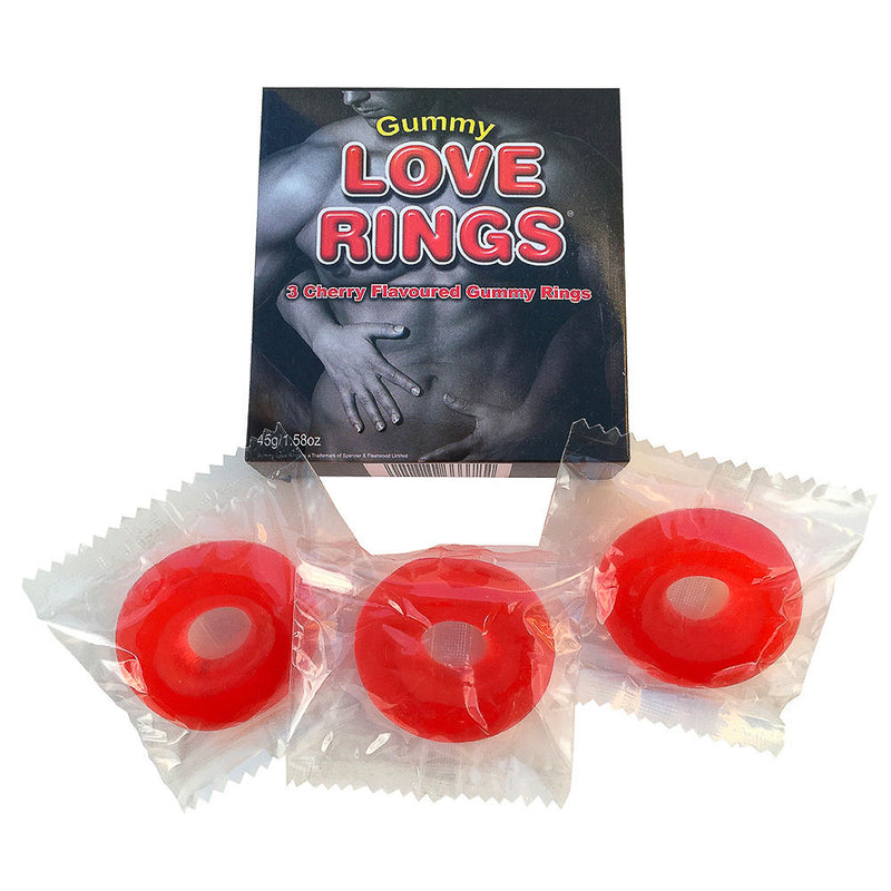 Gummy Love Rings