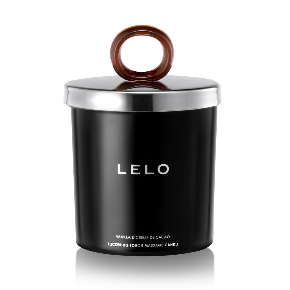 Lelo Vanilla And Creme De Cacao Flickering Touch Massage Candle