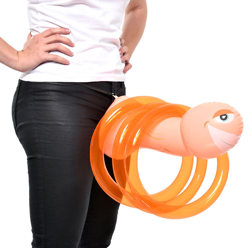 Mr Party Pecker Inflatable Ring Toss Game