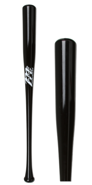 Marucci Maple Wood Baseball Bat: MCMBLEM Black Adult