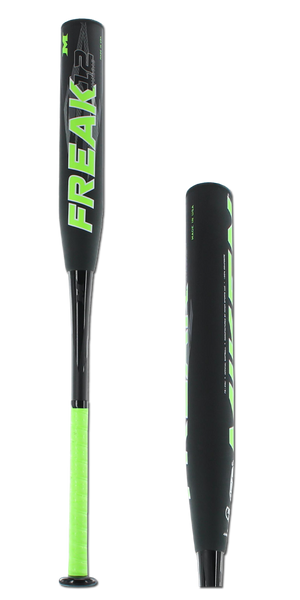 2016 Miken Freak Black 12 Maxload USSSA Slow Pitch Softball Bat: FB12MU