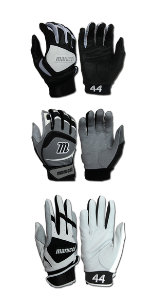 Marucci Adam Dunn On-Field Adult Large Batting Gloves: ADBG