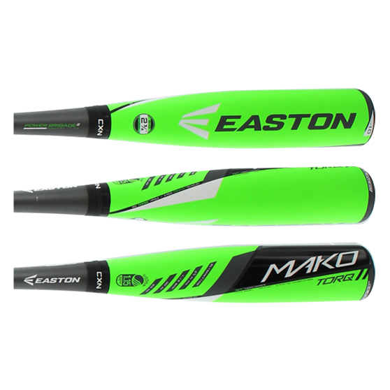 2016 Easton MAKO TORQ Senior League Baseball Bat: SL16MKT10B