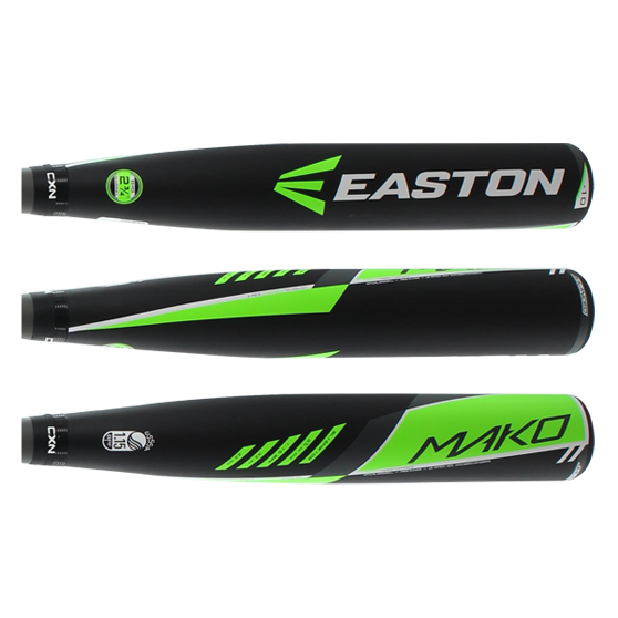 2016 Easton MAKO Senior League Baseball Bat: SL16MK10B