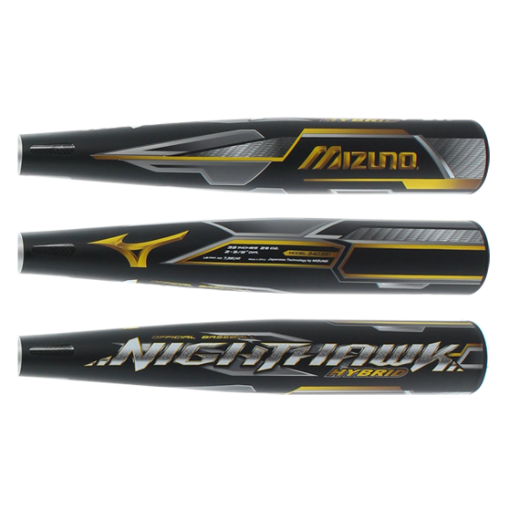 2016 Mizuno Nighthawk Hybrid BBCOR Baseball Bat: BB16NH