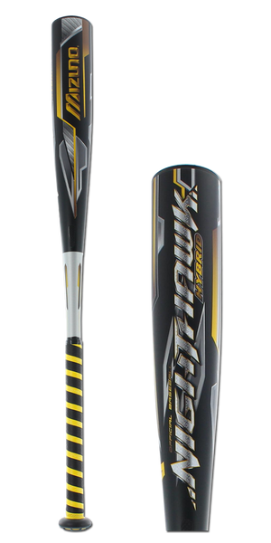 2016 Mizuno Nighthawk Hybrid Senior League Baseball Bat: SL16NHXL