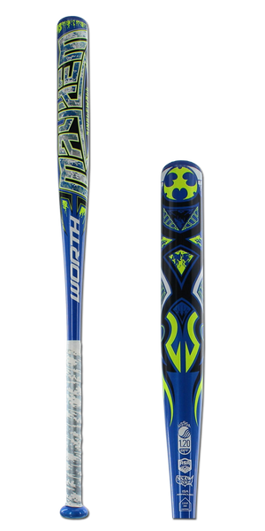 2016 Worth Mayhem Alloy Balanced USSSA/ASA Slow Pitch Softball Bat: SBMSWA