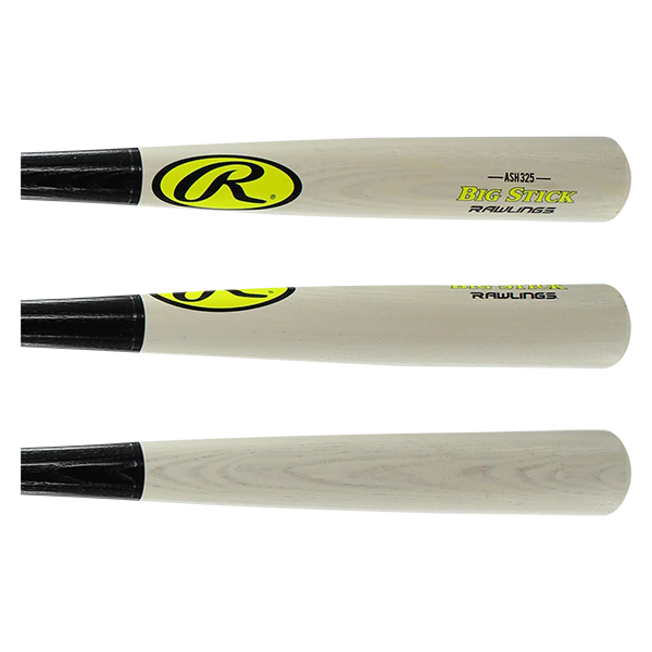 2016 Rawlings Big Stick Ash -3 Guarantee Wood Baseball Bat: R325BG