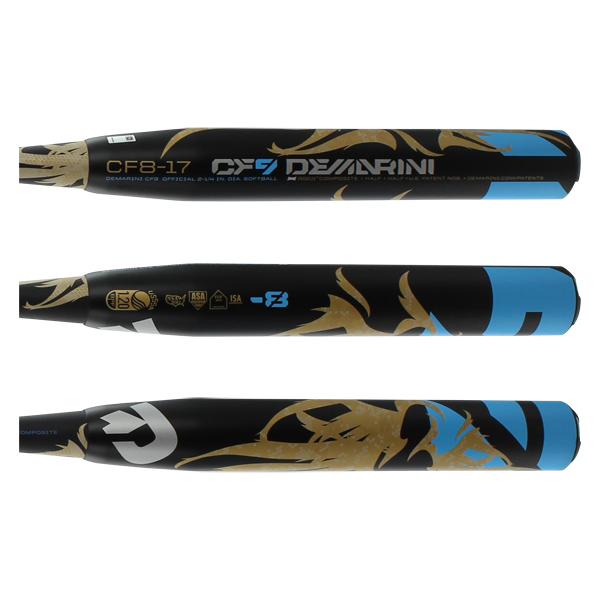 2017 DeMarini CF9 Fastpitch Softball Bat: WTDXCF8