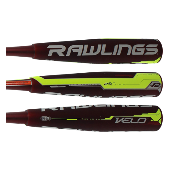 2017 Rawlings VELO Senior League Baseball Bat: SL7V12
