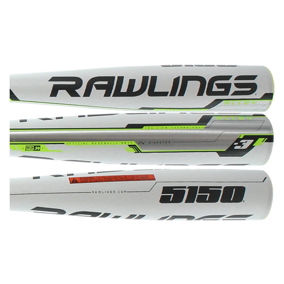 2017 Rawlings 5150 BBCOR Baseball Bat: BB75