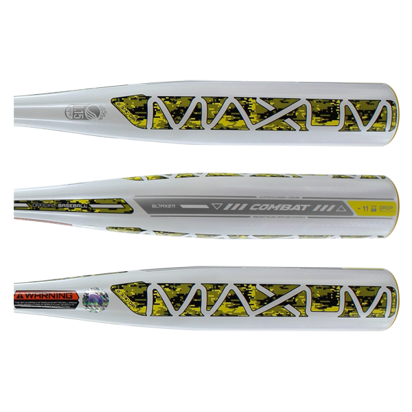 2017 COMBAT MAXUM -11 Senior League Baseball Bat: SL7MX211