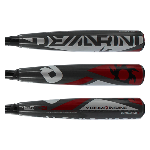 2017 DeMarini Voodoo Insane BBCOR Baseball Bat: DXVIC