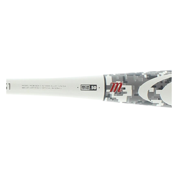 Marucci CAT 6 BBCOR Baseball Bat: MCBC6DA Digital Camo