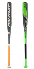 Bat Pack 2017 COMBAT VIGOR -10 and 2016 Easton S3 -10 Senior League Baseball Bats: VG2SL110 and SL16S310B