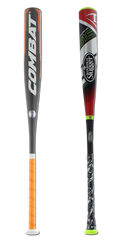 Bat Pack 2017 COMBAT VIGOR -10 and 2016 Louisville Slugger Omaha 516 -10 Senior League Baseball Bats: VG2SL110 and SLO516X