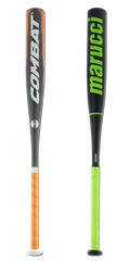 Bat Pack 2017 COMBAT VIGOR -10 and Marucci Hex Composite Senior League Baseball Bats: VG2SL110 and MSBYC1410
