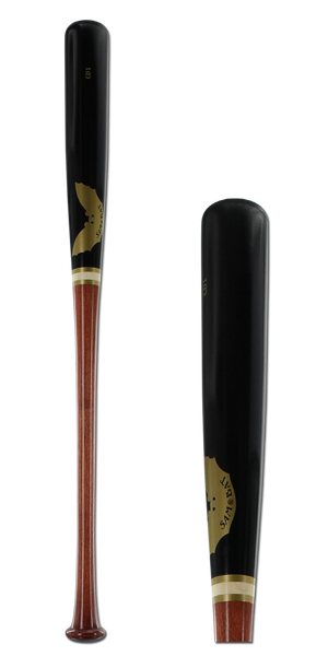 Sam Bat Maple Wood Baseball Bat: CD1 Walker/Black Adult
