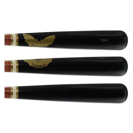 Sam Bat Maple Wood Baseball Bat: R2K1 (73) Walker/Black Adult