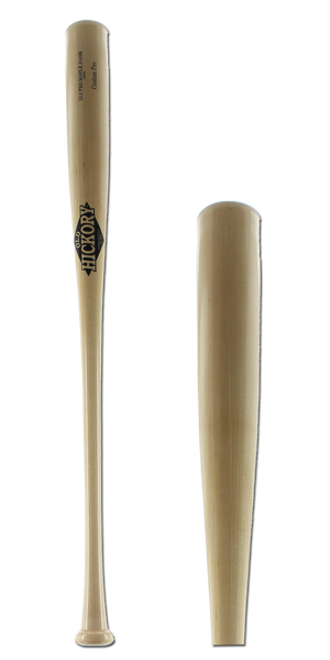 Old Hickory Bat Co. Custom Pro Maple Wood Baseball Bat: J143M Natural Adult