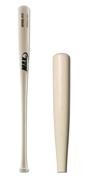 MaxBat Pro Series Maple Wood Baseball Bat: R10 Adult