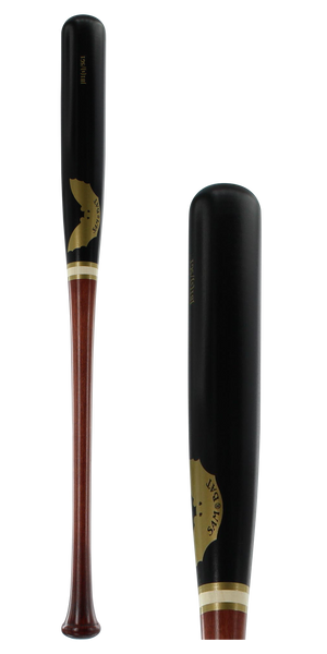 Sam Bat Maple Wood Baseball Bat: JB1(S)SG1 Walker/Black Adult