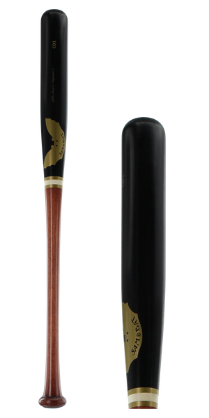 Sam Bat Maple Wood Youth Baseball Bat: LLCD1 Walker/Black