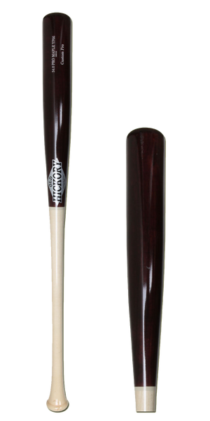 Old Hickory Co. YP66 Custom Pro Maple Wood Baseball Bat Natural/Cherry: YP66M