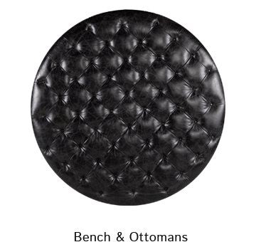 Bench & Ottomans
