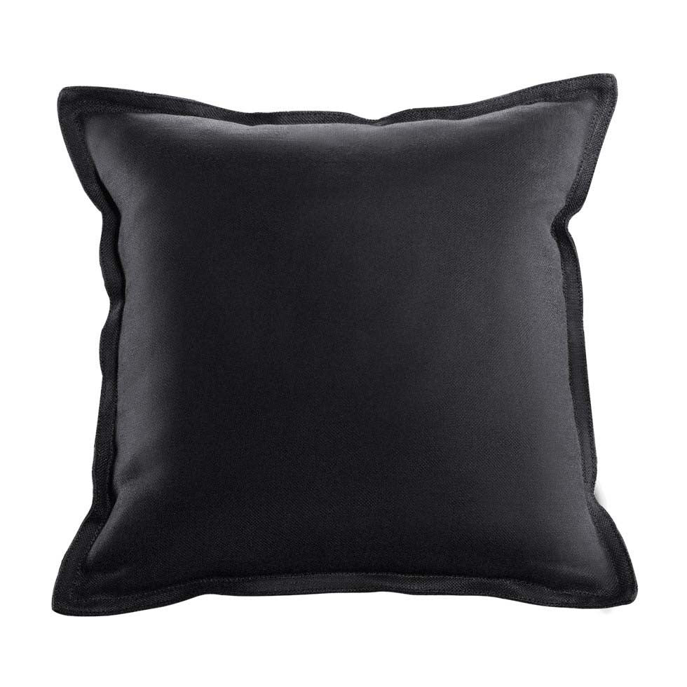 Curations Limited Slate Velvet Pillow