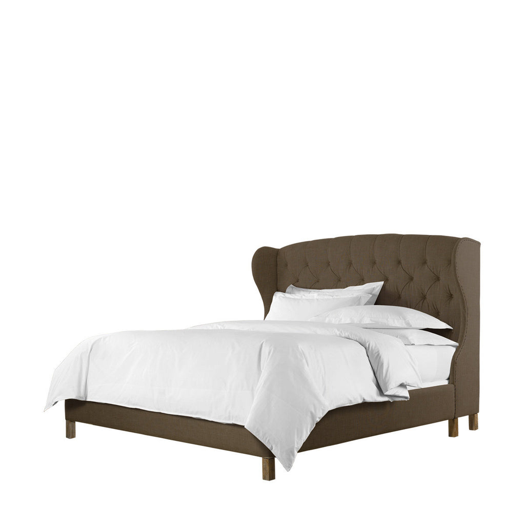 Curations Limited Meredian Wing King Bed With Frame
