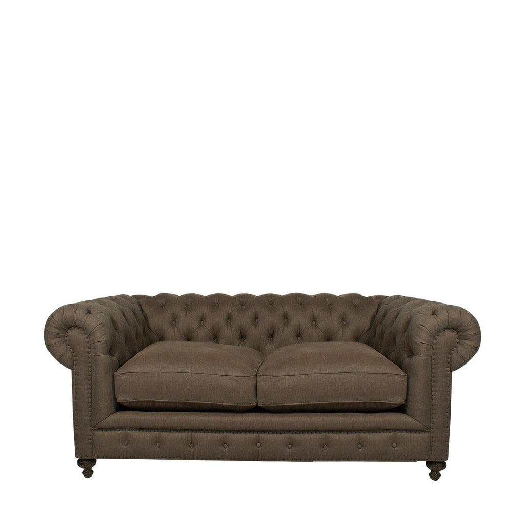 "Curations Limited 77"" Cigar Club Sofa"